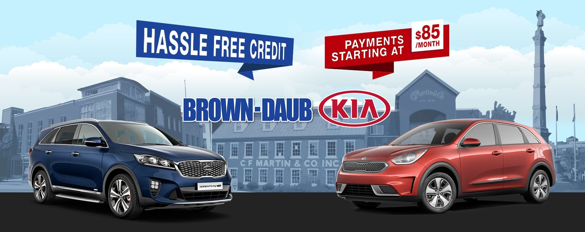 Brown Daub Kia >> Easy Kia Credit